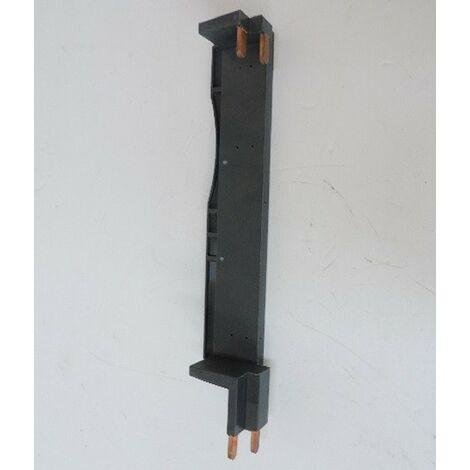 Peigne d'alimentation vertical 1P+N pour Inter diff / disjoncteur à bornes vis décalées 9mm 1R entraxe 150mm SCHNEIDER 14901
