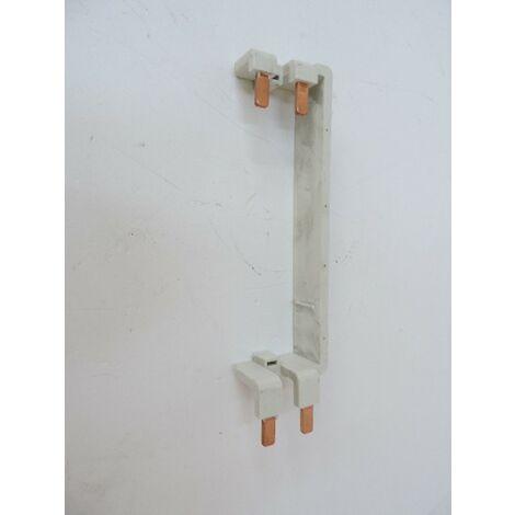Peigne d'alimentation vertical d'inter diff pour coffret 2 rangées entraxe 125mm ABB 359879