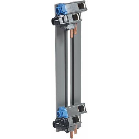Peigne d'alimentation verticale mono-coffret 2 rangées entraxe 125 - Legrand