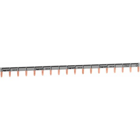 Peigne de raccordement réversible (phase + neutre) - 18 modules - 404928 - Legrand