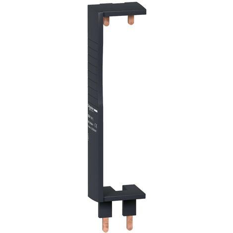Peigne de répartition 1P+N vertical 2 rangées entraxe 150mm pour disjoncteur XE et XP ID'clic 63A Resi9 SCHNEIDER ELECTRIC 14911