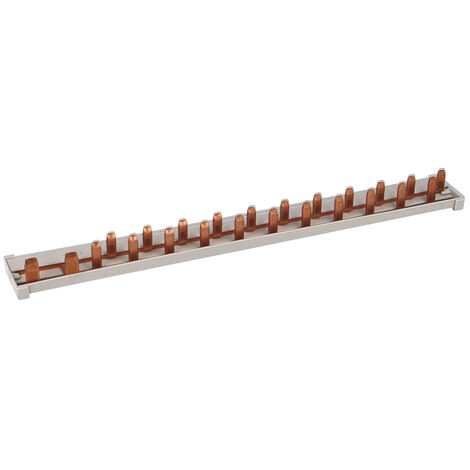 """main image of """"Peigne horizontal 13 modules pour disjoncteur automatique GE"""""""