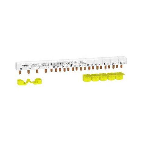peigne triphasé - 3P+N - 63A - 13 modules