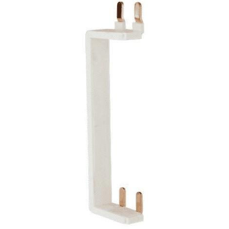 Peigne vertical pour inter Différentiel 63A haut/bas avec alimentation par le bas dans coffret entraxe 125mm EUROHM 19072