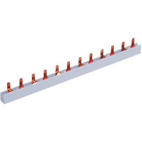 Peine bipolar 6x2 módulos, sección 16 mm², SOLERA P2P21610
