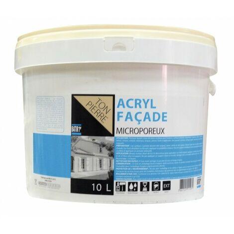 "main image of ""Peinture façade acrylique 10L"""
