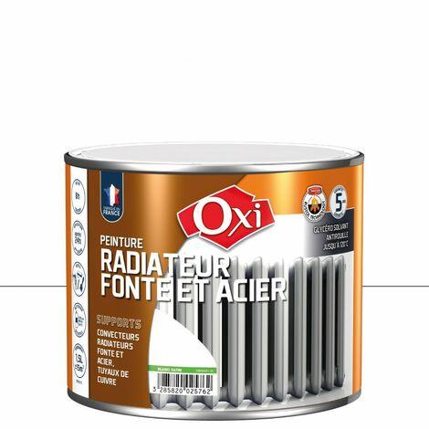 Peint Radiateur Fonte Blanc Sat 1l5 - OXI