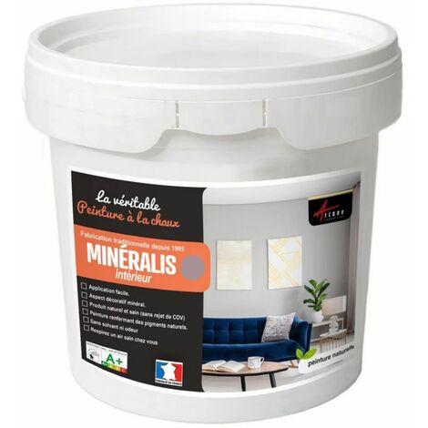 Peinture A La Chaux Naturelle Et Saine Nuances Minerales Chaux