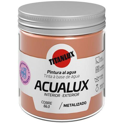 Peinture à l'eau Acualux Titanlux Metallic Colors