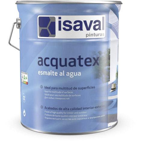Peinture Acquatex Laque Mat 4 Litres RAL 7016 Gris Anthracite - Isaval
