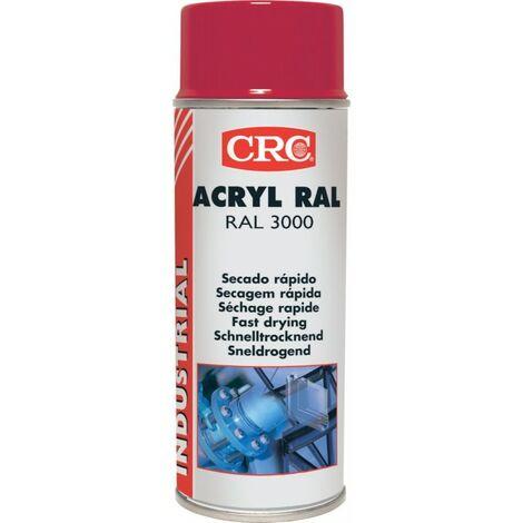 Peinture acrylique blanc mat 400 ml CRC RAL 9010 V65185