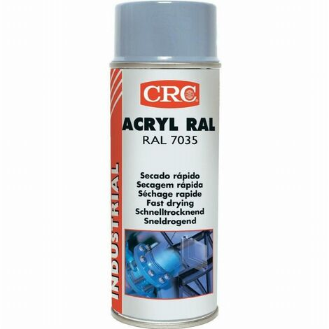 Peinture acrylique CRC Aérosol - Gris argent - 520ml/400ml - 11680