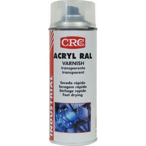 Peinture acrylique CRC Aérosol - Incolore brillant - 520ml/400ml - 11682