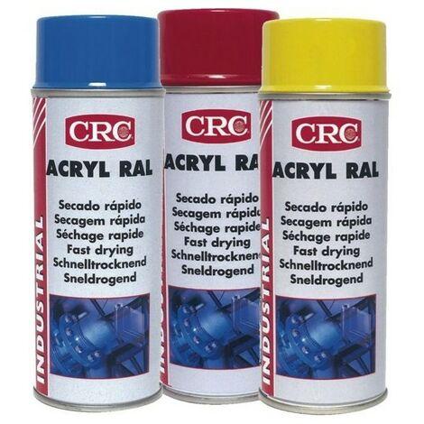 Peinture acrylique CRC Aérosol - Rouge - 520ml/400ml