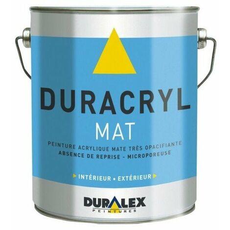 Peinture acrylique duracryl