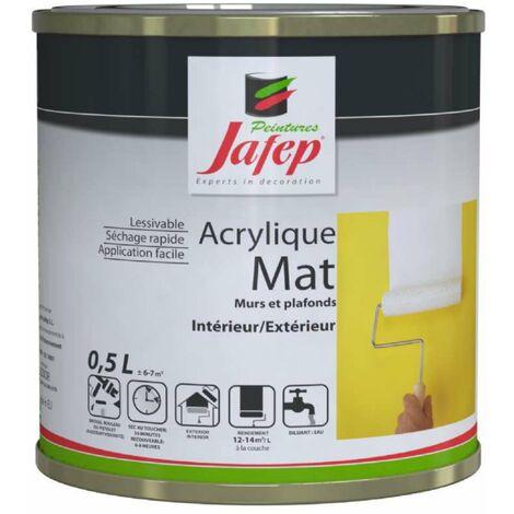 Peinture acrylique mat mauve Jafep 2,5 L