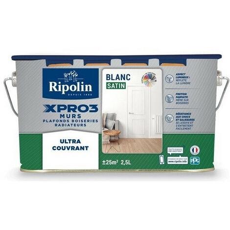 Peinture acrylique multi-usages sat Xpro3 RIPOLIN - plusieurs modèles disponibles