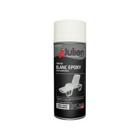 Peinture aérosol blanc epoxy 400 ml JULIEN