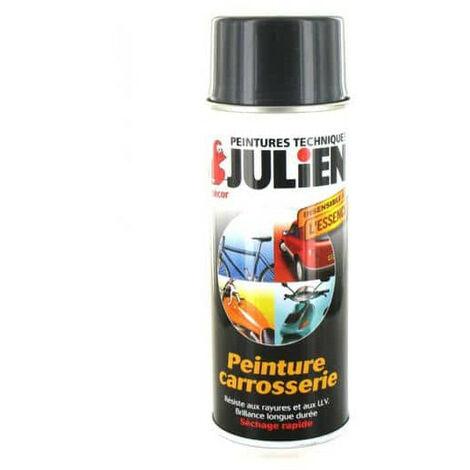 Peinture aérosol Julien carrosserie Gris titanium 400ml - Gris
