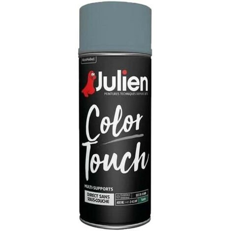 Peinture aérosol Color Touch multi-supports - Brillant - Julien
