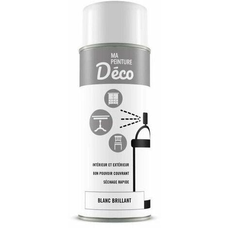 Peinture aérosol déco - 0,4 L - Blanc brillant