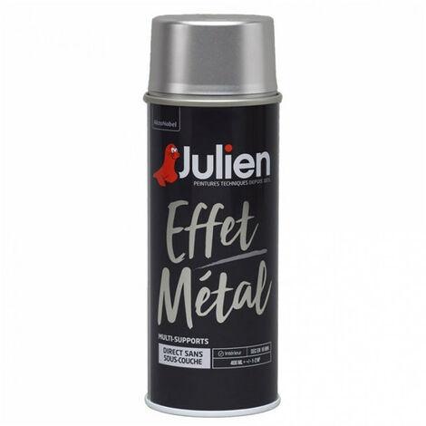 Peinture aérosol Effet Métal 400ml (différents coloris) JULIEN - plusieurs modèles disponibles