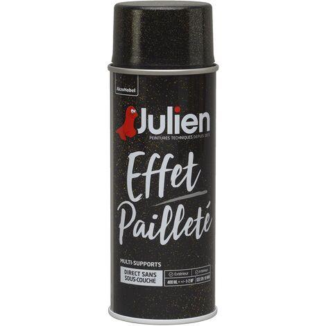 Peinture Aérosol Effet Pailleté Multi Supports Or 400 Ml