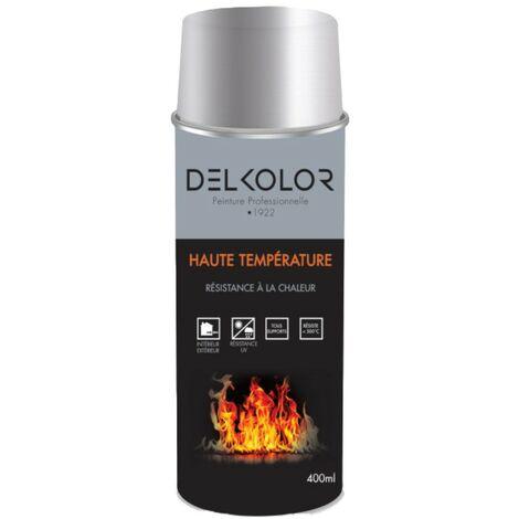 Peinture aérosol Haute température Aluminium 400ml | Couleur: Aluminium