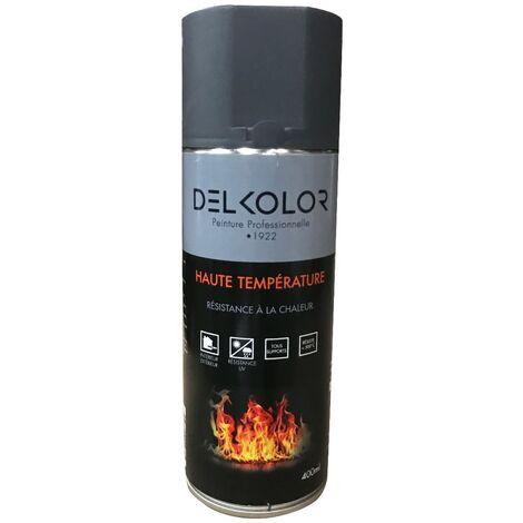 Peinture aérosol Haute température Gris fonte 400ml | Couleur: Gris fonte
