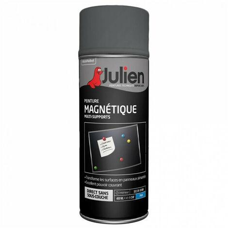 Peinture aérosol Magnétique 400ml (gris) JULIEN