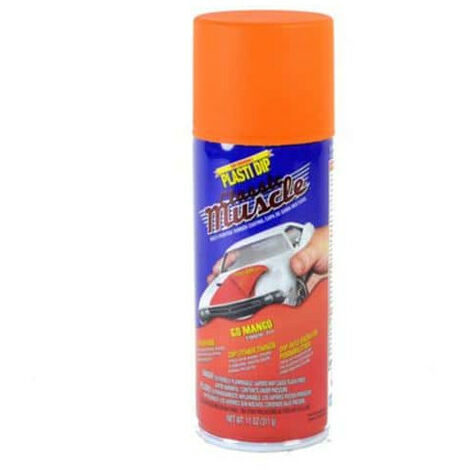 Peinture aérosol Plasti Dip Muscle Orange 400 ml