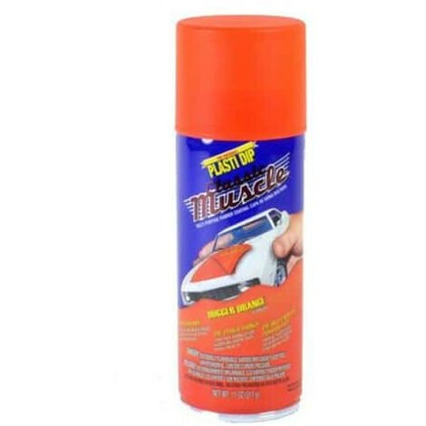 Peinture aérosol Plasti Dip Muscle Orange vif 400 ml