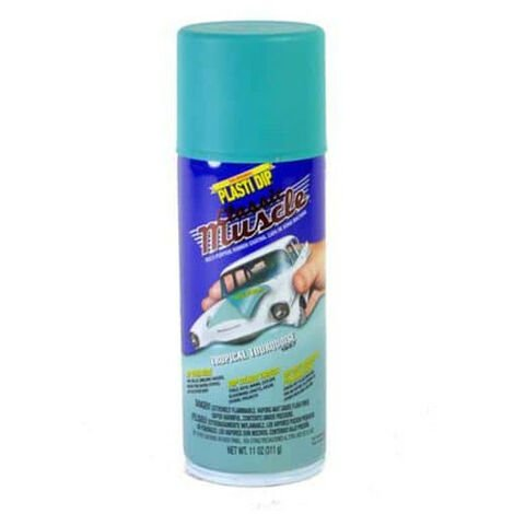 Peinture aérosol Plasti Dip Muscle Turquoise 400 ml - Bleu