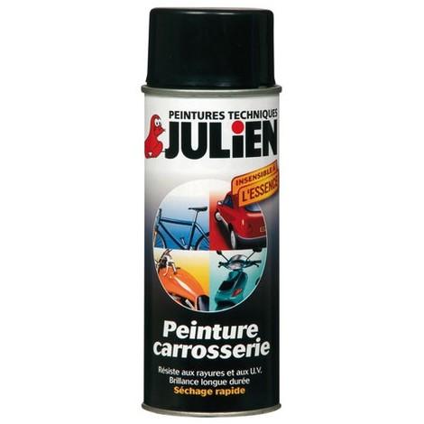 Peinture aérosol Plastique pour véhicule 400ml (différents coloris) JULIEN - plusieurs modèles disponibles