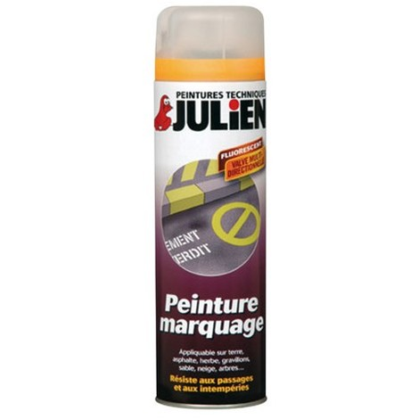 Peinture aérosol pour Marquage - Julien