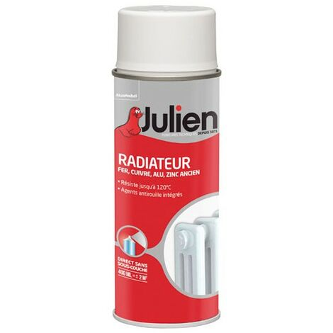 Peinture aérosol pour radiateur - Julien