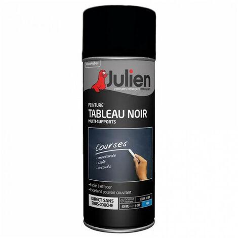 Peinture aérosol Tableau Noir 400ml JULIEN