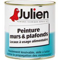 Peinture alimentaire Hygiapeint Julien - Boîte 500 ml - Blanc satiné