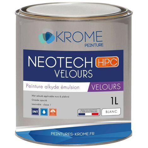Peinture alkyde émulsion Krome Neotech Velours