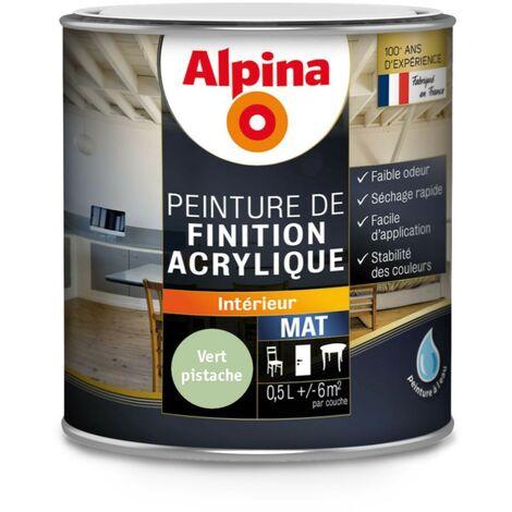 Peinture Alpina Acrylique 0,5L Mat