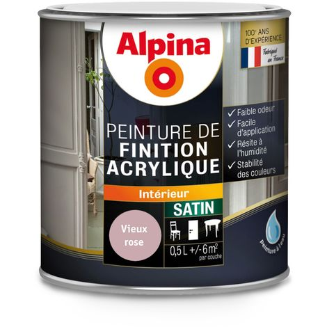 Peinture Alpina Acrylique 0,5L Satin