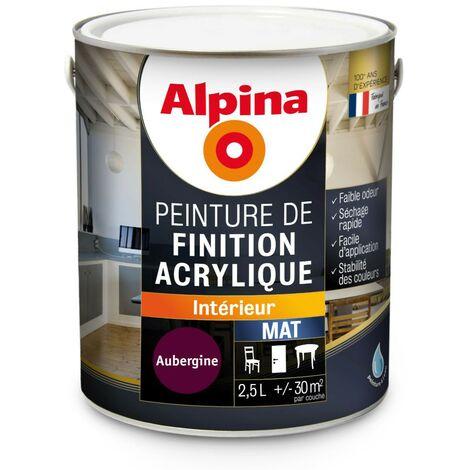Peinture Alpina Acrylique 2,5L Mat