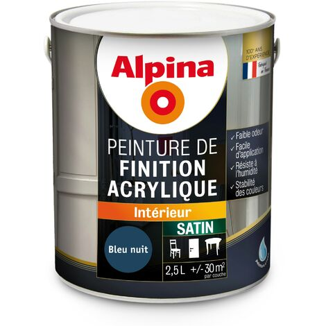 Peinture Alpina Acrylique 2 5l Satin