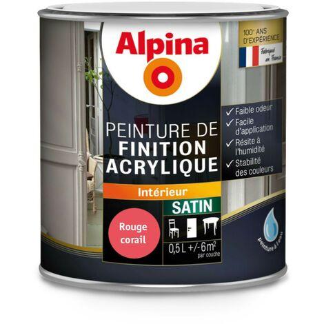 Peinture Alpina Acrylique - Satin