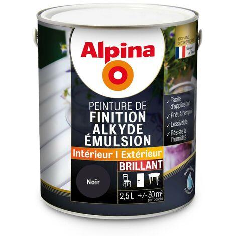 Peinture Alpina Alkyde émulsion 2,5L Brillant