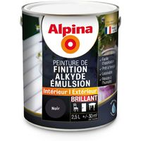 Peinture Alpina Alkyde émulsion 2,5L Brillant