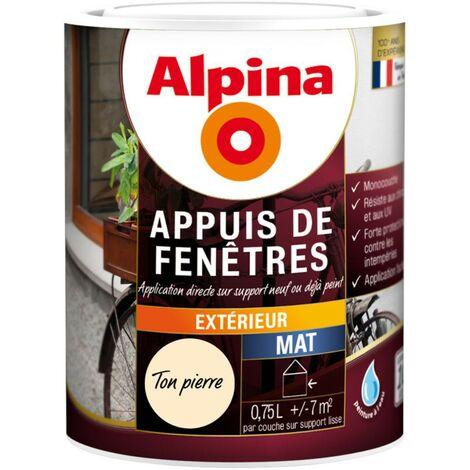 Peinture Alpina Appuis de fenêtres 0,75L