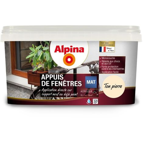 Peinture Alpina Appuis de fenêtres 2L