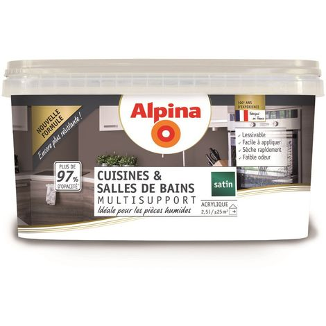 Peinture Alpina Cuisines et Salles de bains 2,5L