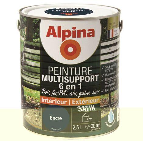 Peinture Alpina Multisupport 6 en 1 Satin 2,5L